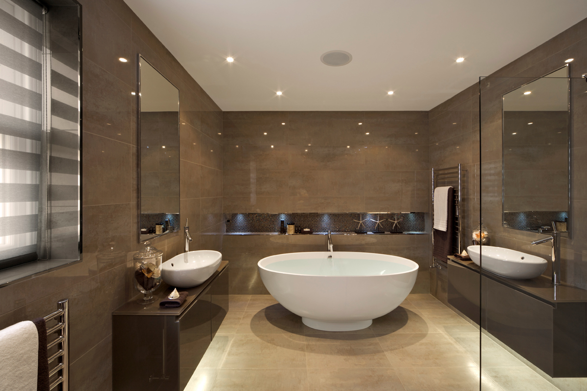 Modern home kitchen and bath modern home kitchen and bath for Photos of contemporary bathrooms